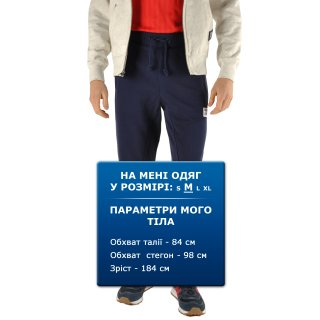 Штани New Balance Pa Flc Pant - фото 7