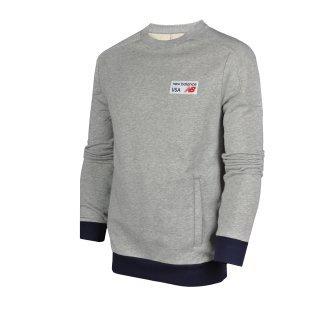 Кофта New Balance Sweatshirt - фото 1