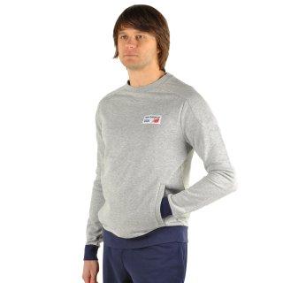 Кофта New Balance Sweatshirt - фото 5