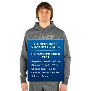 Кофта New Balance Pullover Hoodie - фото 8