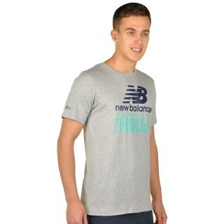 Футболка New Balance Trackclub Logo - фото 4