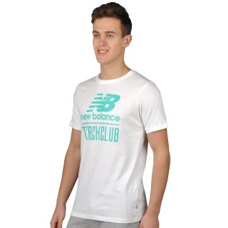 Футболка New Balance Trackclub Logo - фото 2