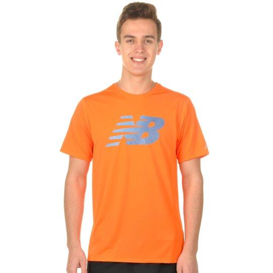 Футболка New Balance Accelerate Print - фото