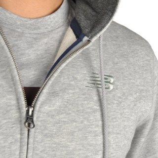 Кофта New Balance Fz Fleece Hoodie - фото 6