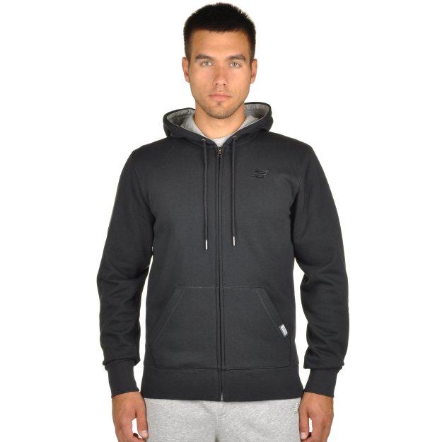 Кофта New Balance Fz Fleece Hoodie - MEGASPORT