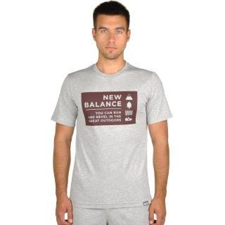 Футболка New Balance Camp Vibes - фото 1