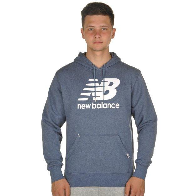 Кофта New Balance Pullover Hoodie - MEGASPORT