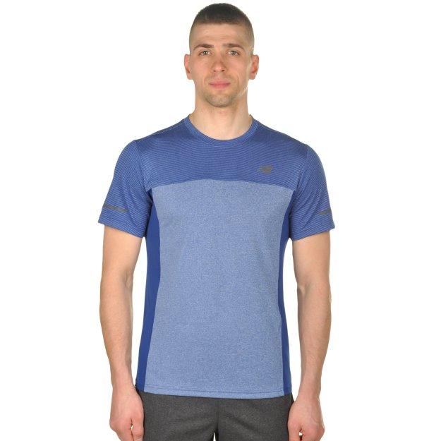 Футболка New Balance Stripe Tee - MEGASPORT