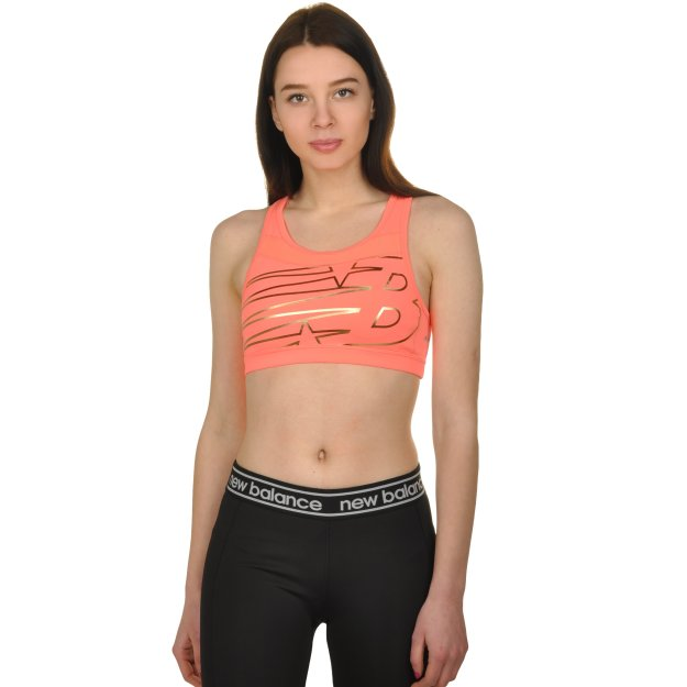 Топ New Balance Pulse Bra - MEGASPORT