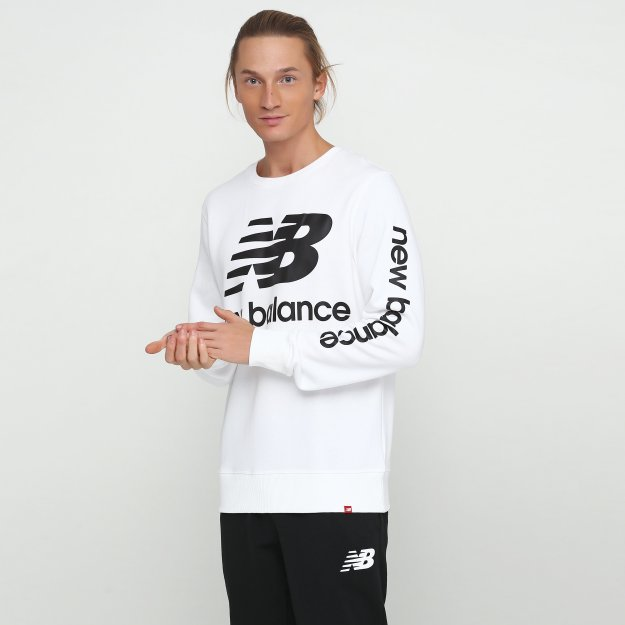Кофта New Balance Essentials Nb Logo - MEGASPORT