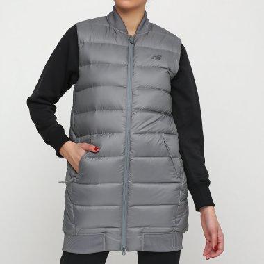 Куртки-жилеты newbalance Heatdown 600 Сірий - 111818, фото 1 - интернет-магазин MEGASPORT