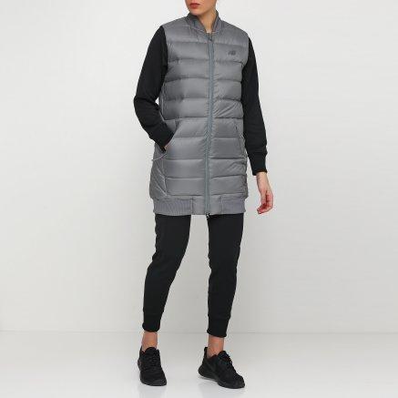 Куртка-жилет New Balance Heatdown 600 Сірий - 111818, фото 2 - інтернет-магазин MEGASPORT