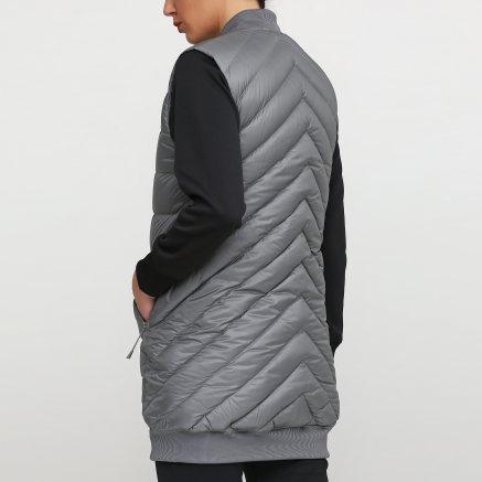 Куртка-жилет New Balance Heatdown 600 Сірий - 111818, фото 3 - інтернет-магазин MEGASPORT