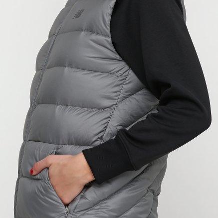 Куртка-жилет New Balance Heatdown 600 Сірий - 111818, фото 4 - інтернет-магазин MEGASPORT