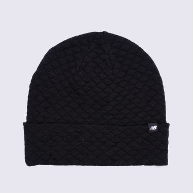 Шапки, Шарфы, Повязки newbalance Warm Up Knit Beanie - 119056, фото 1 - интернет-магазин MEGASPORT
