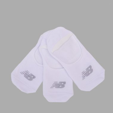 Носки newbalance Performance Cotton Unseen Liner 3 Pair - 123995, фото 1 - интернет-магазин MEGASPORT