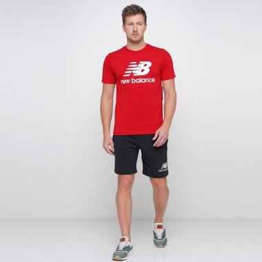 Шорты newbalance Essentials Stacked Logo - 122500, фото 1 - интернет-магазин MEGASPORT