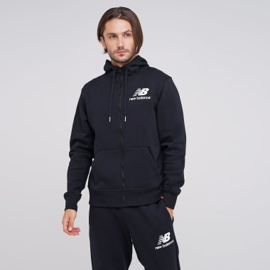 Кофти newbalance Essentials Brush Fleece Fz - 124846, фото 1 - інтернет-магазин MEGASPORT