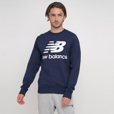 Кофти newbalance Essentials Stacked Logo - 124791, фото 1 - інтернет-магазин MEGASPORT