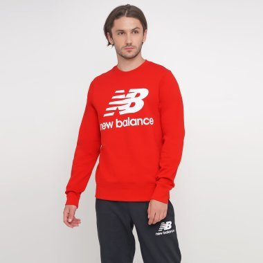 Кофти newbalance Essentials Stacked Logo - 124792, фото 1 - інтернет-магазин MEGASPORT