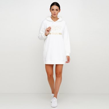 Платья и Юбки newbalance Athletics Village Hoodie - 124870, фото 1 - интернет-магазин MEGASPORT