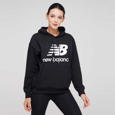 Кофты newbalance Essentials Stacked Logo Oversized - 124887, фото 1 - интернет-магазин MEGASPORT