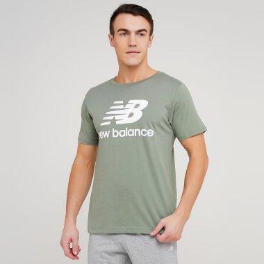 Футболки newbalance Ess Stacked Logo - 134281, фото 1 - интернет-магазин MEGASPORT