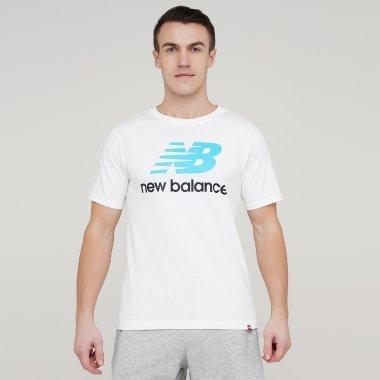 Футболки newbalance Ess Stacked Logo - 134283, фото 1 - интернет-магазин MEGASPORT