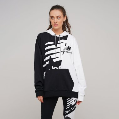 Кофты newbalance Nb Athletics Splice Hoody - 129044, фото 1 - интернет-магазин MEGASPORT