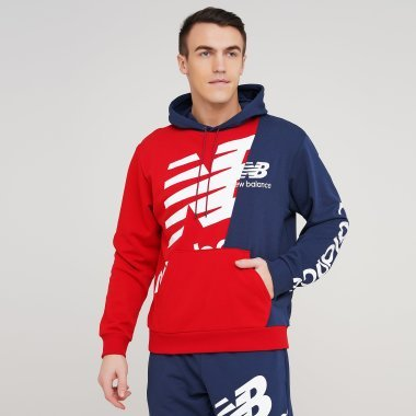 Кофти newbalance Nb Athletics Splice Hoody - 129045, фото 1 - інтернет-магазин MEGASPORT