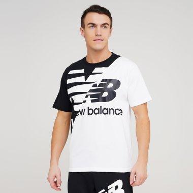 Футболки newbalance Nb Athletics Splice Tee - 129046, фото 1 - интернет-магазин MEGASPORT