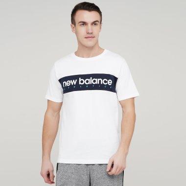 Футболки newbalance Nb Athletics Linear - 134308, фото 1 - интернет-магазин MEGASPORT