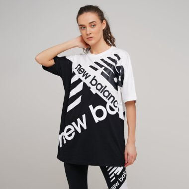 Футболки newbalance Nb Athletics Oversized Graphic Tee - 129056, фото 1 - інтернет-магазин MEGASPORT
