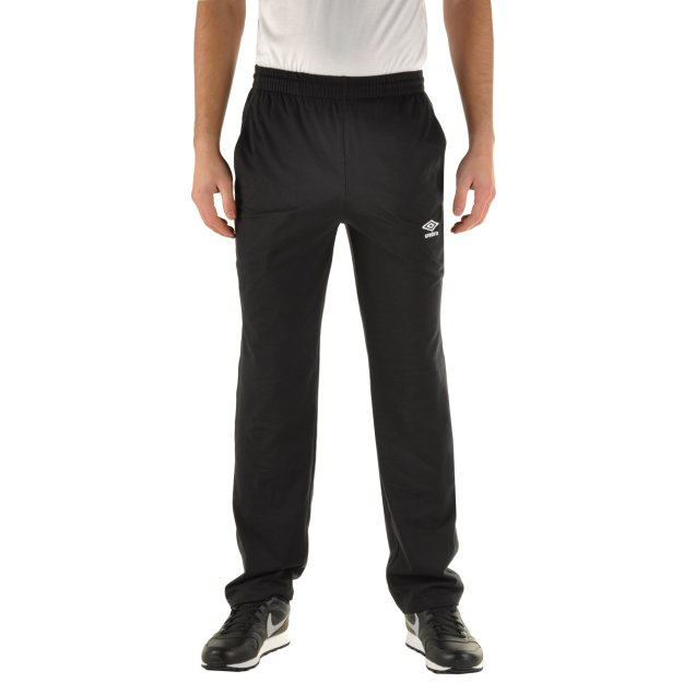 Спортивнi штани Umbro Basic Jersey Pants - 68297, фото 1 - інтернет-магазин MEGASPORT