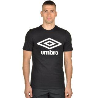 Футболка Umbro Lrg Logo Ctn Tee - фото 1