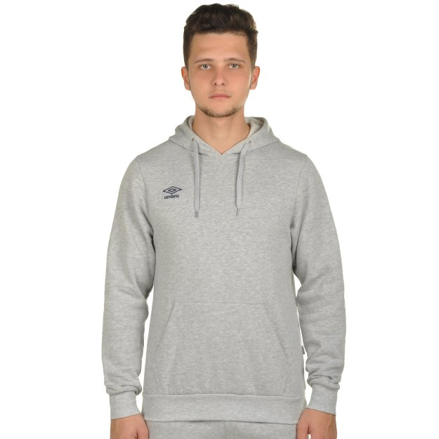 Кофта Umbro Basic Overhead Hooded Sweat - 72782, фото 1 - интернет-магазин MEGASPORT