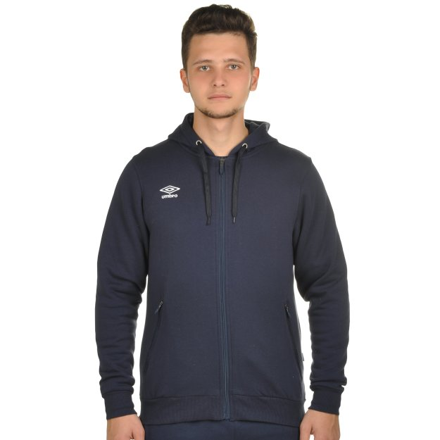 Кофта Umbro Basic Fullzip Hooded Sweat - MEGASPORT
