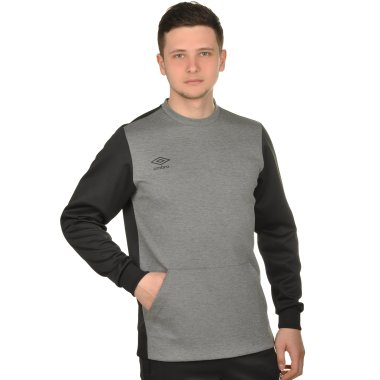 Кофты umbro Saorsa Sweatshirt - 110164, фото 1 - интернет-магазин MEGASPORT
