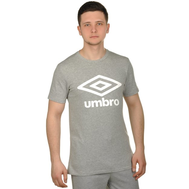 Футболка Umbro Cotton Large Logo Tee - MEGASPORT
