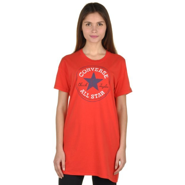 Футболка Converse Chuck Patch Tee Dress - MEGASPORT