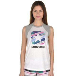 Майка Converse Box Star Stripe Slvlss Raglan - фото 1