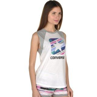 Майка Converse Box Star Stripe Slvlss Raglan - фото 4
