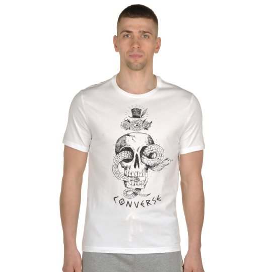 Футболка Converse Skull Tee - фото