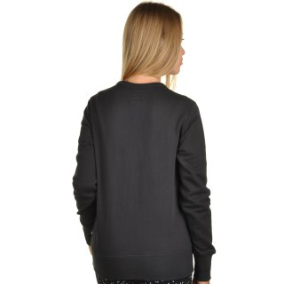 Кофта Converse Metallic Crewneck Sweatshirt - фото 3