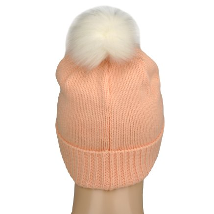 Шапка Converse Fur Pom Knit - 106995, фото 3 - інтернет-магазин MEGASPORT