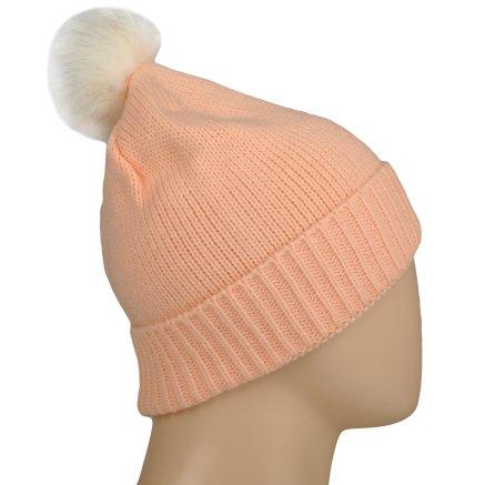 Шапка Converse Fur Pom Knit - 106995, фото 4 - інтернет-магазин MEGASPORT
