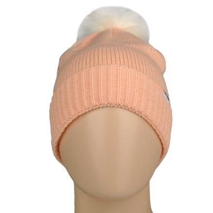 Шапка Converse Fur Pom Knit - 106995, фото 5 - інтернет-магазин MEGASPORT