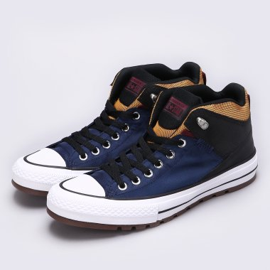 Кеди converse Chuck Taylor All Star Street Boot - 113075, фото 1 - інтернет-магазин MEGASPORT