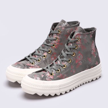 Кеди converse Chuck Taylor All Star Lift Ripple - 113078, фото 1 - інтернет-магазин MEGASPORT
