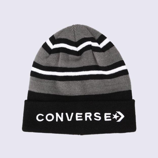Шапка Converse Striped Cuff Beanie - MEGASPORT
